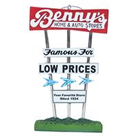 Benny's Benny's it's my favorite store.